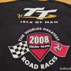 Motos: CAMISETA CARRERA ISLA DE MAN 2008 ROAD RACE. Lote 274883538
