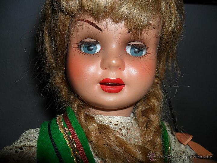 Muñeca Cayetana: Muñeca Cayetana de 3ª generación con vestido típico ruso (Industrias Diana) años 50 - Foto 4 - 44992205