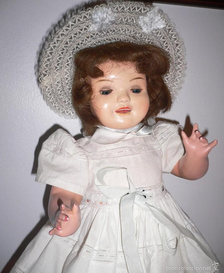 Muñeca Cayetana: Preciosa muñeca Cayetana andadora cuando camina mueve la cabeza ,toda original - Foto 4 - 55698346