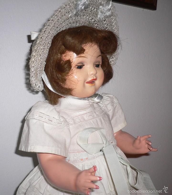 Muñeca Cayetana: Preciosa muñeca Cayetana andadora cuando camina mueve la cabeza ,toda original - Foto 6 - 55698346