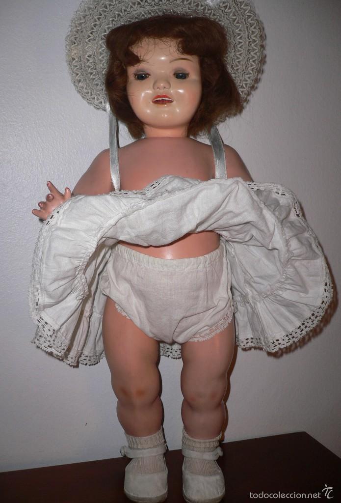 Muñeca Cayetana: Preciosa muñeca Cayetana andadora cuando camina mueve la cabeza ,toda original - Foto 7 - 55698346