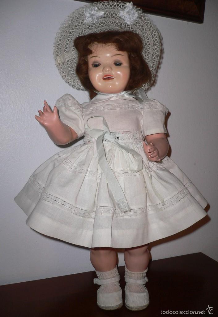 Muñeca Cayetana: Preciosa muñeca Cayetana andadora cuando camina mueve la cabeza ,toda original - Foto 5 - 55698346