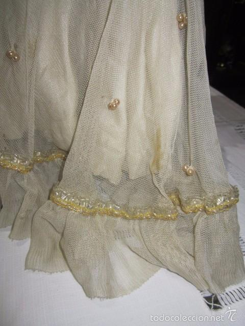Muñeca Cayetana: Muñeca Cayetana de Diana, con bonito vestido y zapatos. Marca en la nuca. 47 cms. altura. - Foto 9 - 55901046