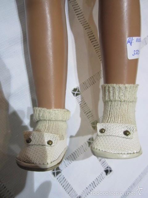 Muñeca Cayetana: Muñeca Cayetana de Diana, con bonito vestido y zapatos. Marca en la nuca. 47 cms. altura. - Foto 12 - 55901046