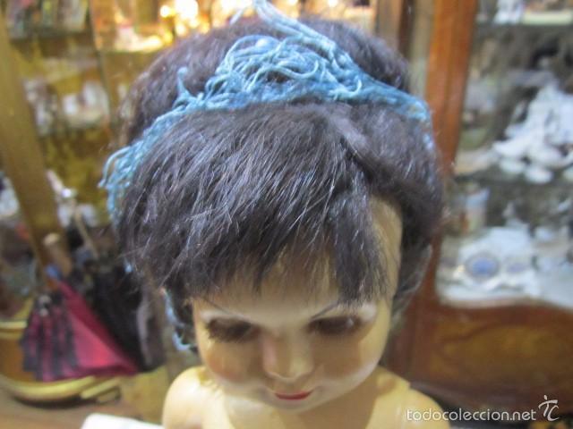 Muñeca Cayetana: Muñeca Cayetana de Diana. Marca en la nuca. Sin vestido. 47 cms. de altura. - Foto 3 - 55901123