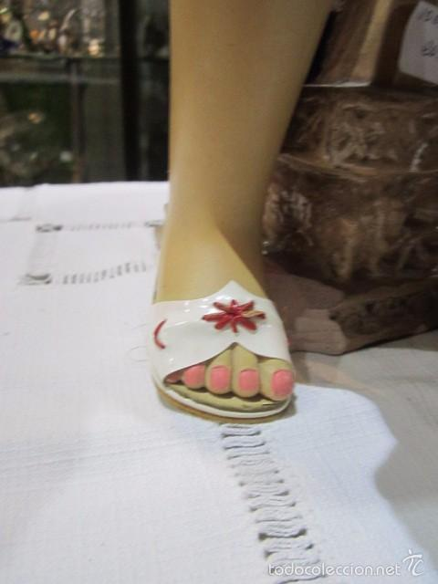 Muñeca Cayetana: Muñeca Cayetana de Diana. Marca en la nuca. Sin vestido. 47 cms. de altura. - Foto 6 - 55901123
