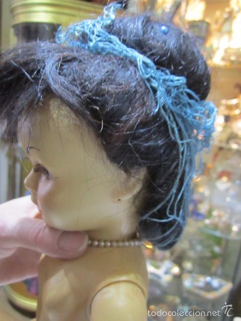 Muñeca Cayetana: Muñeca Cayetana de Diana. Marca en la nuca. Sin vestido. 47 cms. de altura. - Foto 8 - 55901123
