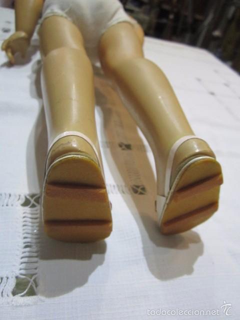 Muñeca Cayetana: Muñeca Cayetana de Diana. Marca en la nuca. Sin vestido. 47 cms. de altura. - Foto 10 - 55901123