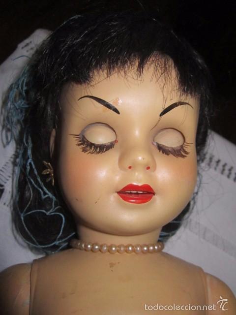 Muñeca Cayetana: Muñeca Cayetana de Diana. Marca en la nuca. Sin vestido. 47 cms. de altura. - Foto 15 - 55901123