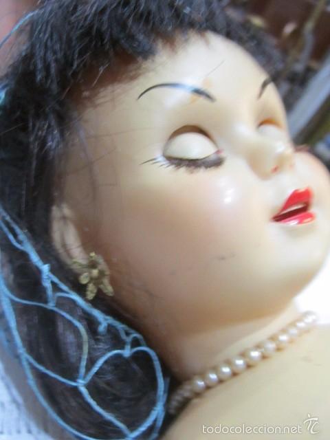 Muñeca Cayetana: Muñeca Cayetana de Diana. Marca en la nuca. Sin vestido. 47 cms. de altura. - Foto 16 - 55901123