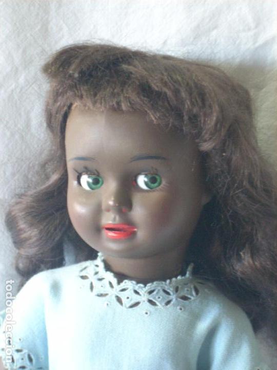 Muñeca Cayetana: Muñeca Cayetana negra, poliestireno, celuloide, marcada Diana - Foto 9 - 70459357