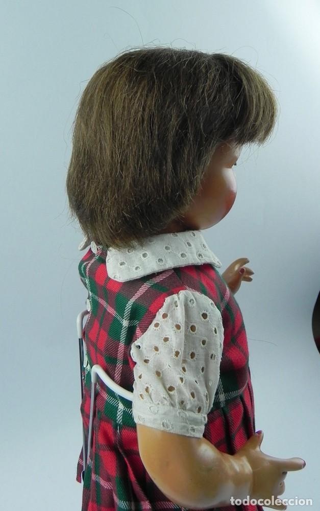 Muñeca Cayetana: Encantadora muñeca Cayetana de 1946. Cabello natural en buen estado. ojo durmiente boca abierta que - Foto 3 - 73790679
