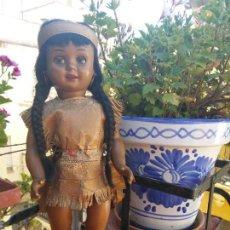 Muñeca Cayetana: MUÑECA CAYETANA DIANA INDIA NEGRA MULATA CELULOIDE. Lote 84586940