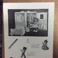 Muñeca Cayetana: PUBLICIDAD ORIGINAL MUÑECA CAYETANA 5. Lote 105926747