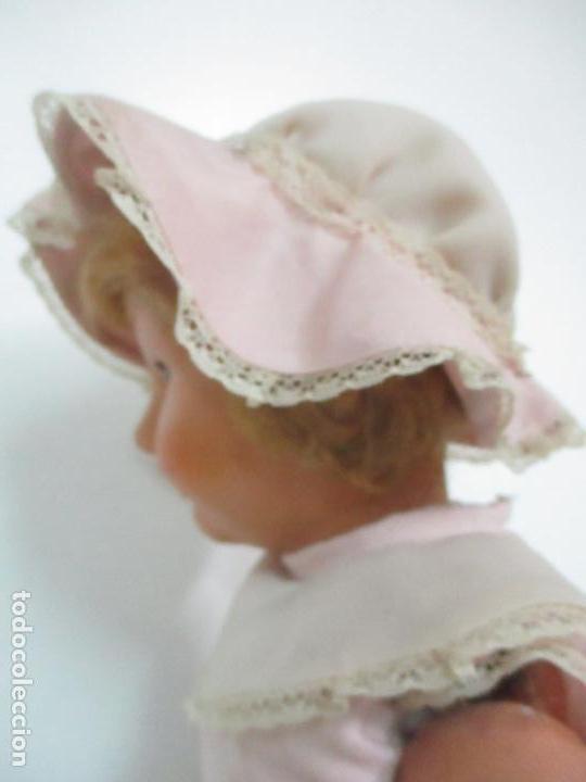 Muñeca Cayetana: Preciosa Muñeca Andadora - Marca Diana - Celuloide - Vestido Original - Cabello Mohair - 67cm Altura - Foto 21 - 147868450