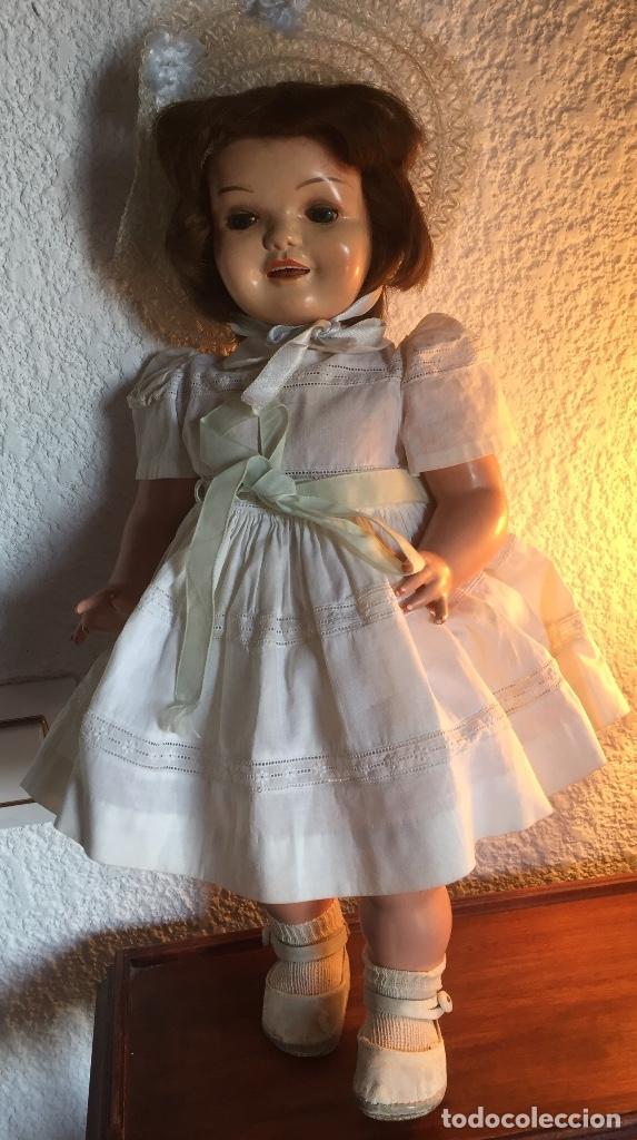 Muñeca Cayetana: Preciosa muñeca Cayetana andadora cuando camina mueve la cabeza ,toda original - Foto 2 - 55698346