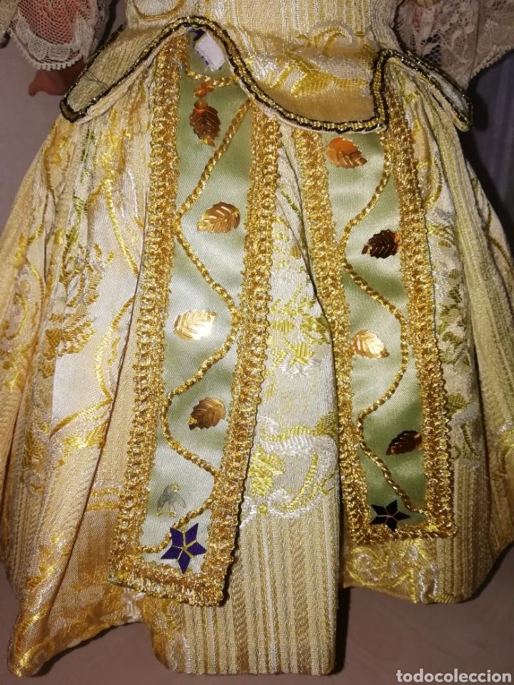 Muñeca Cayetana: Traje de fallera muñeca antigua - Foto 4 - 265483899