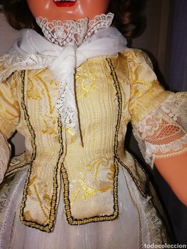 Muñeca Cayetana: Traje de fallera muñeca antigua - Foto 6 - 265483899