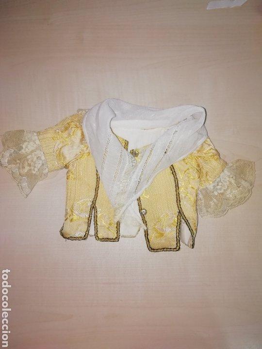 Muñeca Cayetana: Traje de fallera muñeca antigua - Foto 13 - 265483899