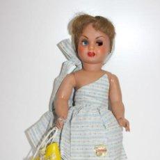 Boneca Cayetana: MUÑECA CAYETANA Nº 56. TODO ORIGINAL. AÑOS 50. NUNCA USADA. MELENA SUPER LARGA. VER DESCRIPCIÓN.. Lote 193038440