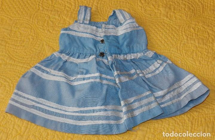 Muñeca Cayetana: Vestido de la muñeca Cayetana de primera época, los remates no estan bien acabados. - Foto 2 - 197486906