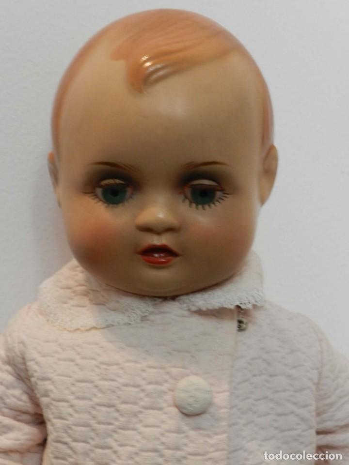 Muñeca Cayetana: Muñeco Nanin, cabeza y cuerpo de poliestireno, ojo durmiente, buen estado, Las fotografias forman p - Foto 3 - 198740601