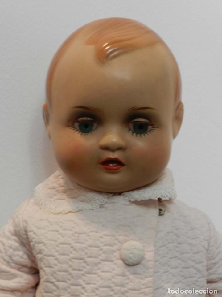 Muñeca Cayetana: Muñeco Nanin, cabeza y cuerpo de poliestireno, ojo durmiente, buen estado, Las fotografias forman p - Foto 4 - 198740601