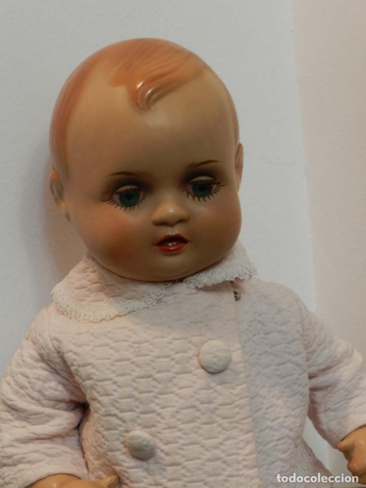 Muñeca Cayetana: Muñeco Nanin, cabeza y cuerpo de poliestireno, ojo durmiente, buen estado, Las fotografias forman p - Foto 6 - 198740601
