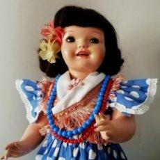 Muñeca Cayetana: PRECIOSA MUÑECA CAYETANA CON TRAJE ORIGINAL DE GITANA. Lote 215768305