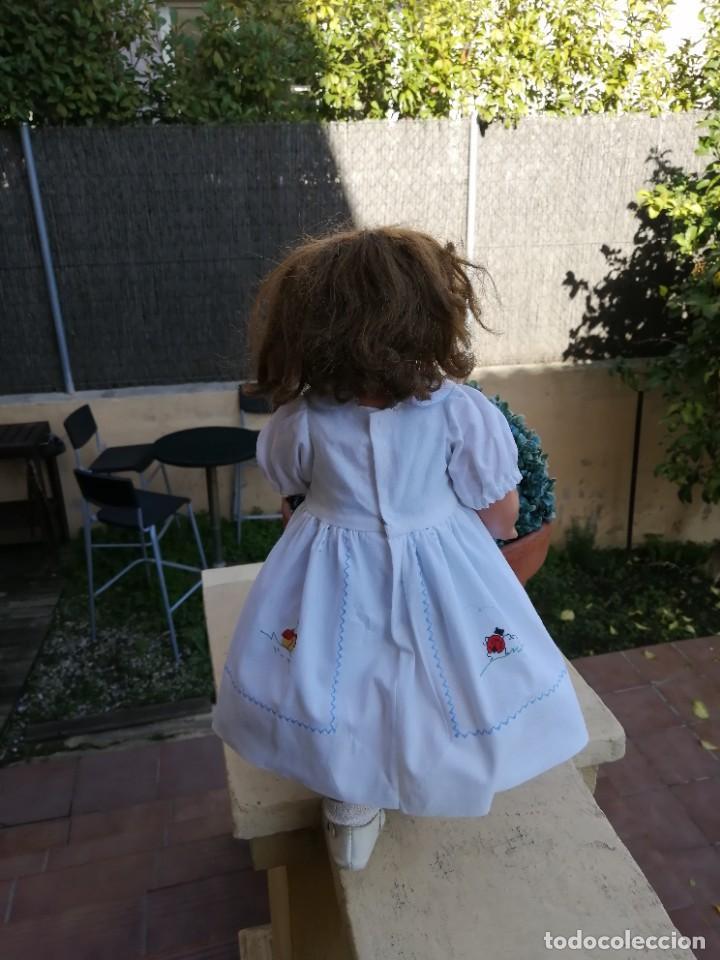 Muñeca Cayetana: Muñeca años 40 Cayetana de Diana marcada andadora carton piedra bellisima! - Foto 8 - 225114920