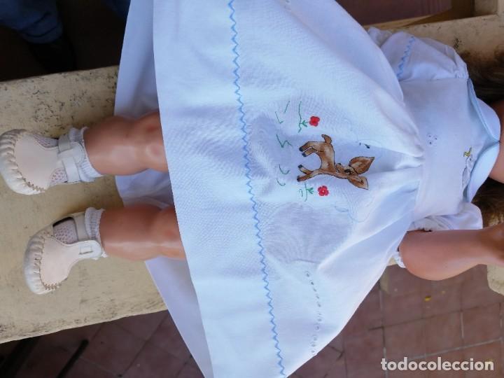 Muñeca Cayetana: Muñeca años 40 Cayetana de Diana marcada andadora carton piedra bellisima! - Foto 14 - 225114920