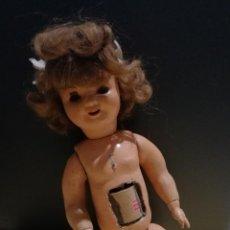Boneca Cayetana: ANTIGUA MUÑECA CAYETANA? CON MOVIMIENTO. OJOS DE CRISTAL. PELO NATURAL. PARA RESTAURAR. 47,5CM. W. Lote 227146400