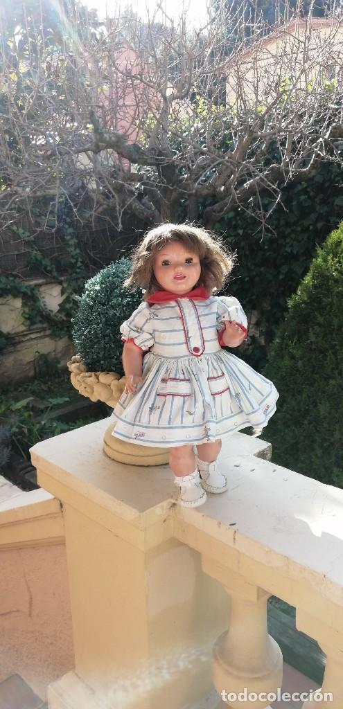 Muñeca Cayetana: Muñeca Cayetana de Diana años 40 marcada andadora cartón piedra muy guapa - Foto 22 - 234303765