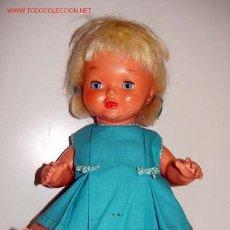 Muñeca española clasica: MUÑECA TOPITA-CREADA EN LA CASA FLORIDO LA CASA QUE DURANTE MUCHOS AÑOS FABRICÓ MARIQUITA PEREZ. Lote 26184850