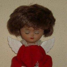 Muñeca española clasica: LINDO PIRULO VESTIDO DE ANGEL,A PILAS. Lote 22651549