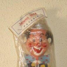 Muñeca española clasica: PAYASIN DE JUGUETES DIANA,AÑOS 50,BOLSA ORIGINAL. Lote 18797005