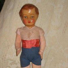 Muñeca española clasica: PRECIOSO MUÑECO PEPON DE CARTON. Lote 26755034