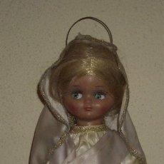 Muñeca española clasica: LINDA PIRULA VESTIDA DE VIRGEN MARÍA. Lote 23813162