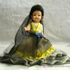 Muñeca española clasica: MANOLA, 10 CM. OJOS DURMIENTES . Lote 26308953