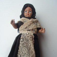 Muñeca española clasica: ANTIGUA MUÑECA DE LOS AÑOS 50 EN DE CONSERVACION. Lote 26780468