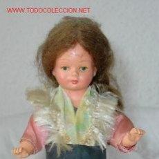 Muñeca española clasica: MUÑECA DE CUERDA,CELULOIDE,AÑOS 50. Lote 20229576