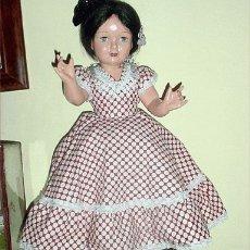 Muñeca española clasica: ANTIGUA Y BONITA MUÑECA PICHUCA COETANEA CON L. Lote 26742306