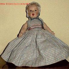 Muñeca española clasica: ANTIGUA MUÑECA DE LA CASA PAGÉS AÑOS 20- TIENE LA PARTICULARIDAD DE SER DE DOBLE CARA Y DOBLE VESTUA. Lote 27373697