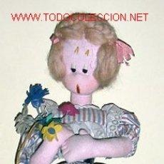 Muñeca española clasica - MUY BONITA MUÑECA LAYNA AÑOS 50 MIDE 55 CM SE ENCUENTRA EN TODO ORIGINAL MUY BUEN TAMAÑO - 26184833