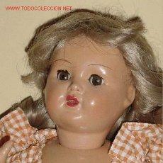 Muñeca española clasica: ENCANTADORA MUÑECA MARI CRIS, MARY CRIS 1946, DE FLORIDO LA MISMA QUE REALIZÓ DURANTE AÑOS A. Lote 26854393