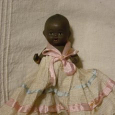 Muñeca española clasica: MUÑECA DE TERRACOTA NEGRITA. Lote 26724743