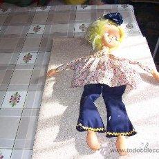 Muñeca española clasica: MUÑECA DE TRAPO Y FIELTRO MUY ANTIGUA. Lote 26565706