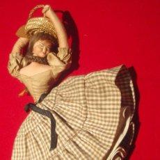 Muñeca española clasica: MUÑECA CELI CON CESTA , TRAPO DURO,. Lote 21655818