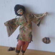 Muñeca española clasica: MUÑECA REGIONAL ORIENTAL .. CUERPO RÍGIDO DE TRAPO. Lote 15907458