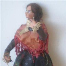 Muñeca española clasica: MUÑECA REGIONAL .. CUERPO RÍGIDO DE TRAPO . Lote 15907614